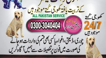 Army Dog Center Over All Pakistan