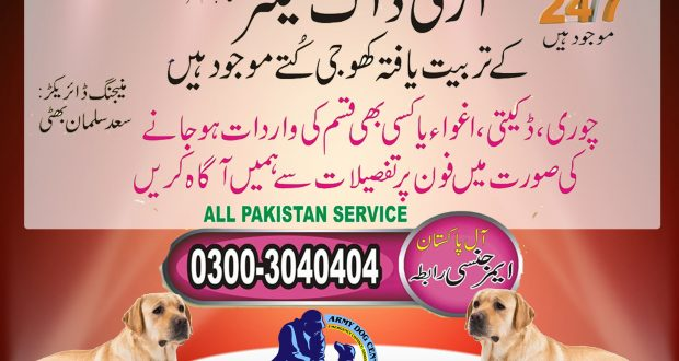 army dog center okara