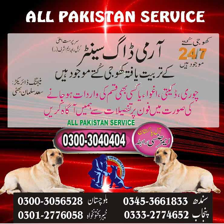 Original Army Dog Center Pakistan