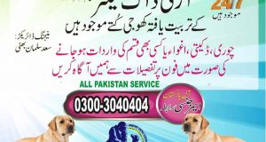 army dog center in pakistan